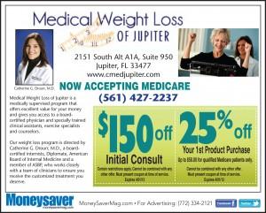 Medical Weight Loss of Jupiter Save $150 Bucks Coupon 2013