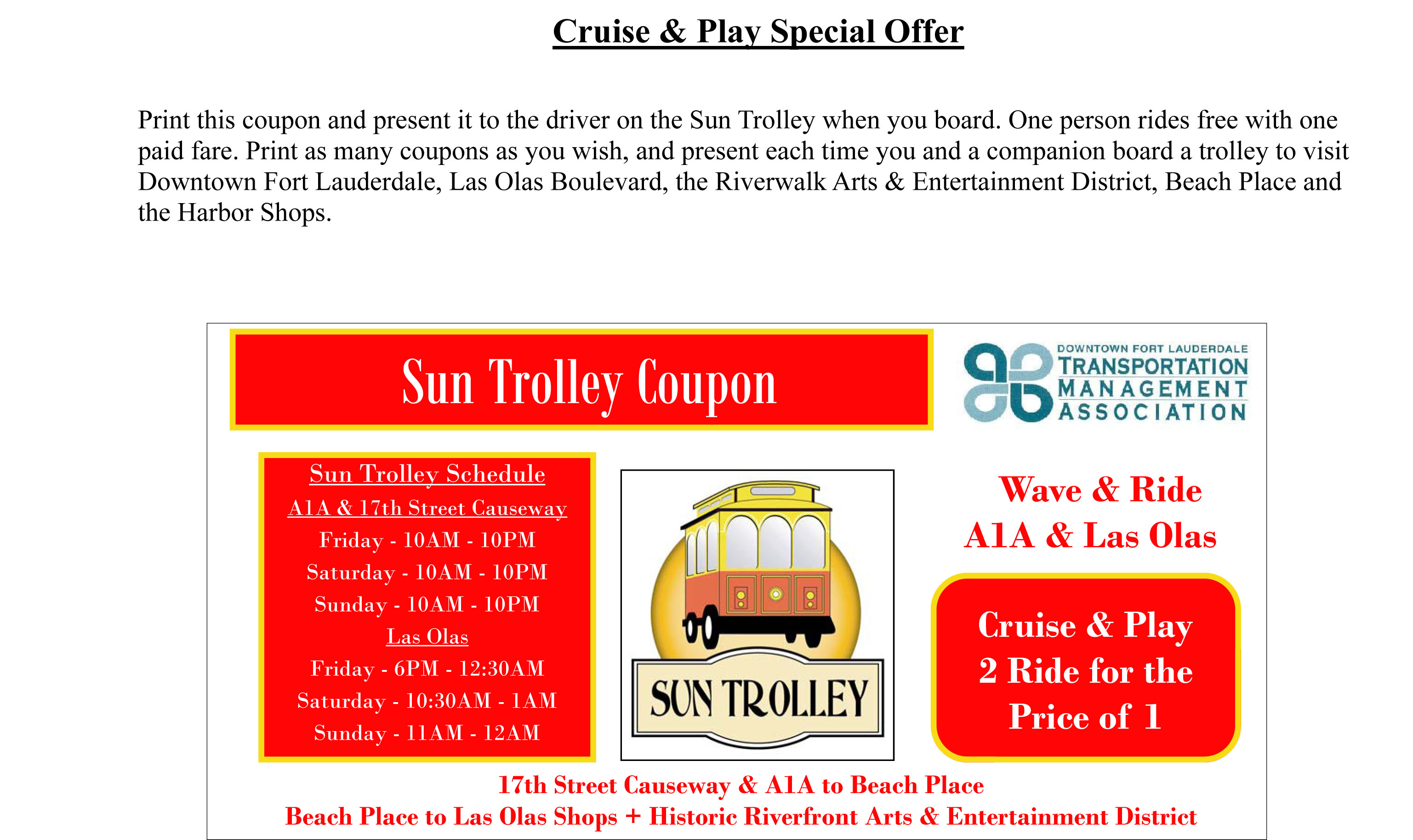 Park and fly ft lauderdale coupons