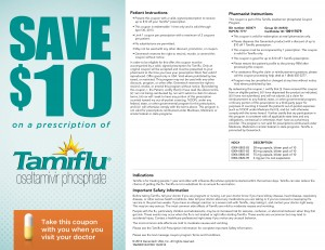 tamiflu $10 dollars off printable coupon 2013