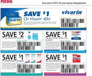 Health Flu and Wellness Coupon List 2013