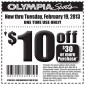 Olympia Sports Coupon 2013