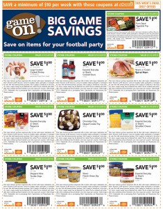 Shaws Savings Super Bowl Party 2013 Grocery Coupons