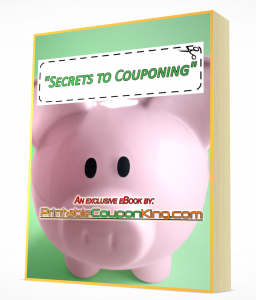Secrest to Couponing eBook Cover