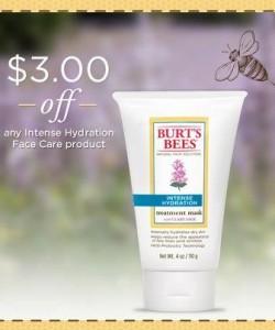 Burts Bees Face Care Coupon