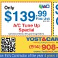 AC Coupons Set Yost & Campbell