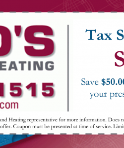 Fords Plumbing and Heating Coupon
