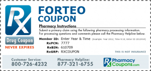 Forteo Drug Coupon