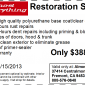 Full Car Restoration Coupon