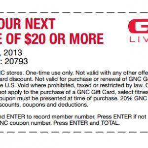 Gnc coupon code 2019