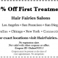 Hair Fairies Salons Coupon