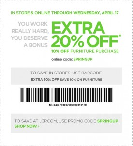 JC Penny Printable Coupon