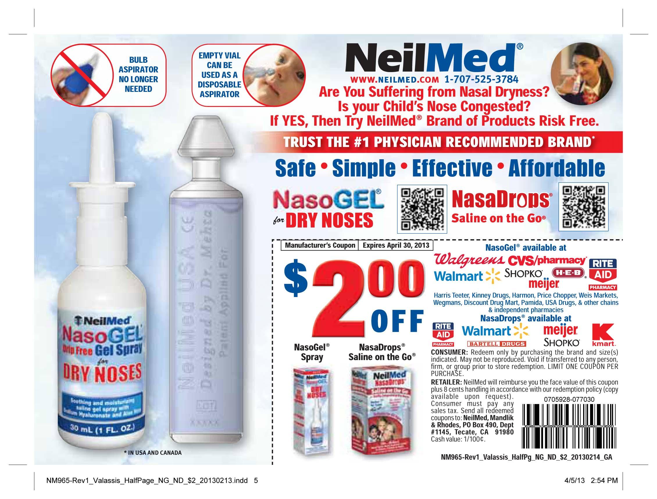 image relating to Neilmed $2 Printable Coupons titled Neil Med Coupon Print Coupon King