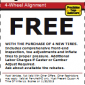 Precision Tune Auto Care Alignment Coupon