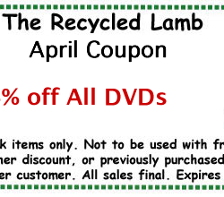 The Recycled Lamb DVD Coupon