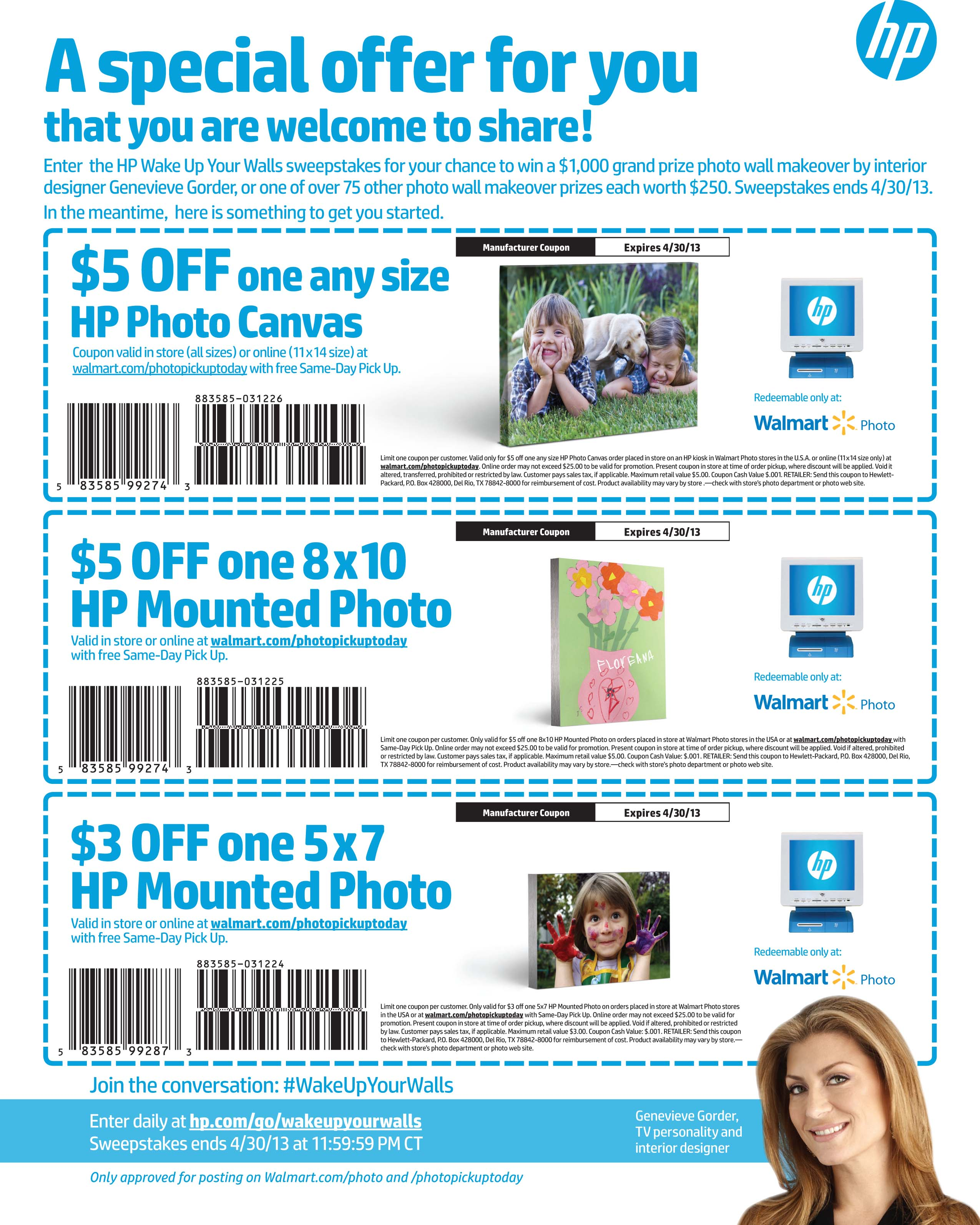 Online coupons for walmart