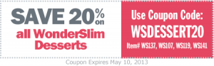 Wonderslim Desserts Coupon