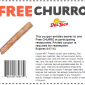Free Churro Del Taco Coupon