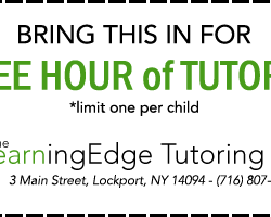 LearningEdge Tutoring Coupon