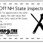 NH State Inspection Coupon