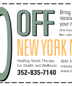 New York Massage Coupons 2013