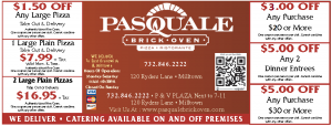 Pasquale Brick Oven Pizza Coupon List