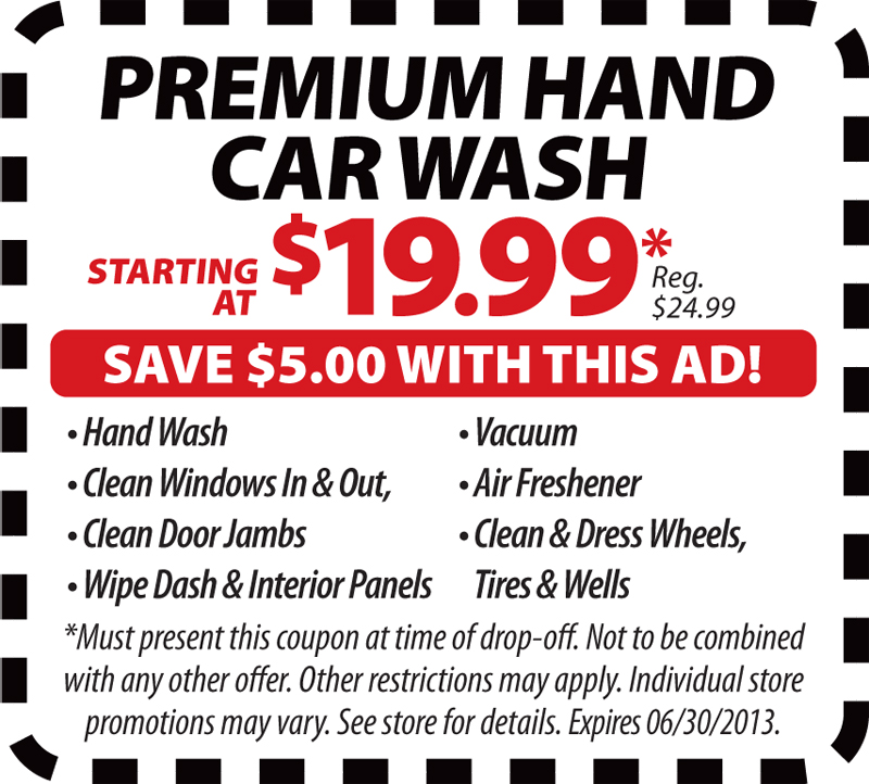 Tint World Car Wash Coupon