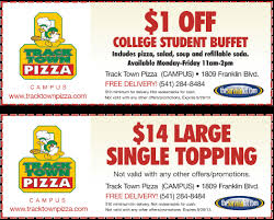 Track Town Pizza Coupon