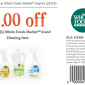 Whole Foods Cleaning Coupon