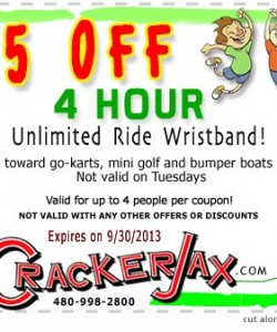 Cracker Jax Coupon 2013