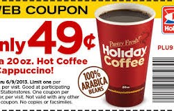 Holiday Coffee Coupon 2013
