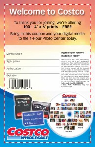 Costco Free Prints Coupon