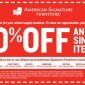 10% off at American Signature Furniture
