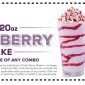 ARBY'S TRIPLE BERRY SHAKE COUPON