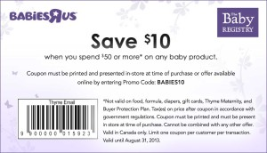 Babies R Us Printable Coupon Code