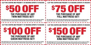 Bedding Experts Coupon 2013