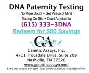DNA paternity Testing Coupon