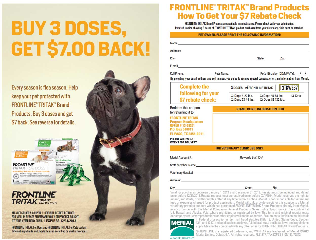 photo about Frontline Coupons Printable referred to as Frontline flea medicines discount codes - Toys r us coupon codes 20 off