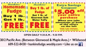 Hankins Fudge Free Fudge Coupon 2013