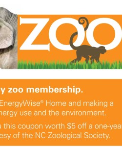 NC Zoo Society Coupon