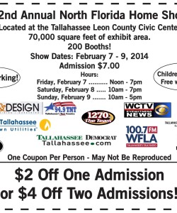 North Florida Home Show Discount Coupon