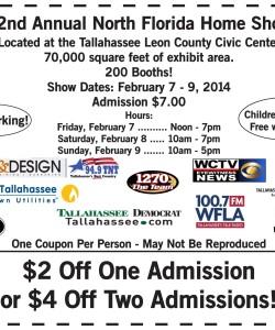 North Florida Home Show Discount Coupon
