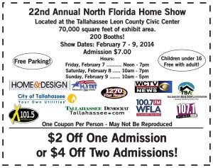 North Florida Home Show Coupon