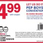 PEP BOYS CONVENTIONAL OIL CHANGE DISCOUNT