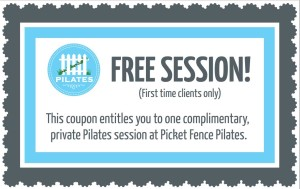 Picket Fence Pilates Coupon 2013