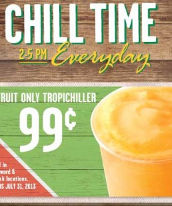 Pollo Tropical Tropichiller Coupon