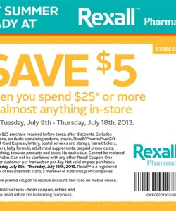 Rexall Pharma Plus Discount Coupon