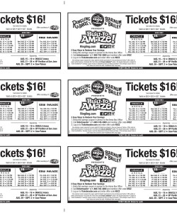 Ringling Brothers Built to Amaze Coupons