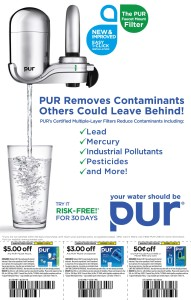 Sears Pur water filters coupon 2013