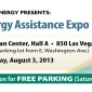 Free Parking at Energy Assistance Expo Coupon