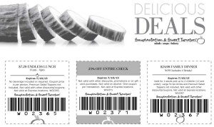 Souplantation Sweet Tomatoes Coupon Delicious Deals 2013